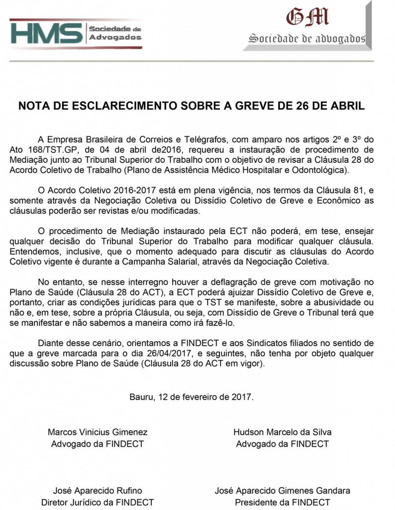 a2017m04d13--Informativo-017----NOTA-DE-ESCLARECIMENTO-SOBRE-A-GREVE-DE-26-DE-ABRIL_ANEXO