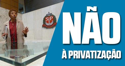 Convidamos a todos para audiência pública na assembleia legislativa de São Paulo em 12/06 – Não à PRIVATIZAÇÃO