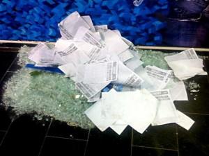 Vandalismo: FENTECT invade Sede da ECT e gera tumulto