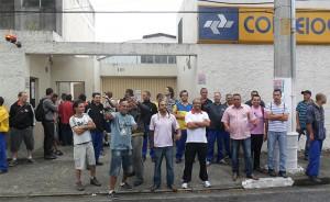 Carteiros do CDD São Bernardo fazem greve para pedir mais segurança