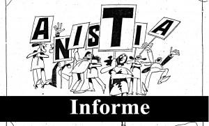 Informe Anistia: Adiamento da reunião do Grupo