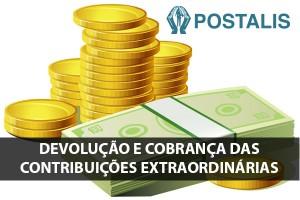 POSTALIS: Devolução e Cobrança das Contribuições Extraordinárias
