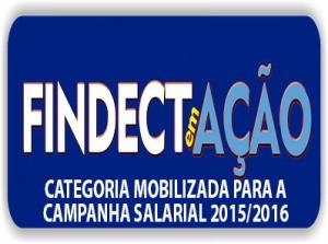 Jornal FINDECT   Campanha Salarial 2015/2016