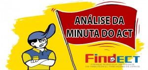 Após análise da FINDECT e FENTECT, Correios apresentam minuta com a proposta da ECT para o Acordo Coletivo 2016/2017