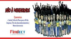 ECT apresenta proposta, FINDECT rebate e defende que Trabalhadores vão à luta na defesa da Assistência Médica da categoria