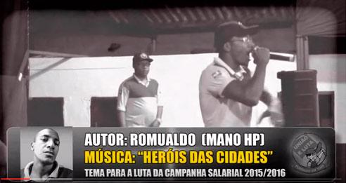 "Mano HP – ""Heróis das cidades"""