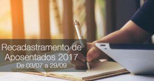 #SaiuNaMídia: Recadastramento de Aposentados Postalis 2017