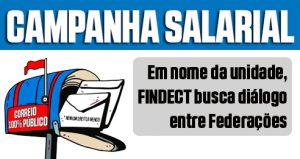 Em nome da unidade, FINDECT busca diálogo entre Federações