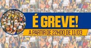 SP – Assembleia aprova greve a partir de 22h00 de domingo, 11/03