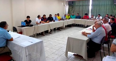 Reunião extraordinária da FINDECT discute assistência médica e demais ataques aos direitos dos Trabalhadores.
