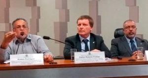 FINDECT se manifesta contra demissões e o fechamento de agências, em audiência no Senado