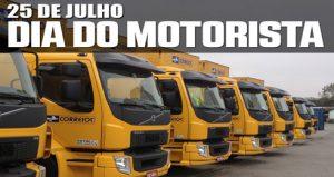 25 de Julho – Homenagem a todos e todas motoristas do Brasil