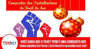 Luta e mobilização garantiram a conquista de ticket-extra para os Trabalhadores Ecetistas