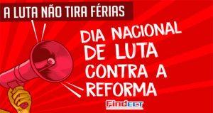 FINDECT manifesta apoio ao Dia Nacional de luta contra o fim da Aposentadoria e em defesa da Previdência Pública