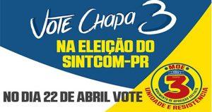 Ecetistas no Paraná querem mudança no Sindicato – Chapa 3 para recuperar o protagonismo e avançar nas conquistas!