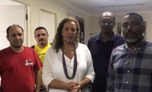 SINTECT-RJ TRAVA LUTA CONTRA O FECHAMENTO DE AGÊNCIAS E SE REÚNE COM DEPUTADA JANDIRA FEGHALI