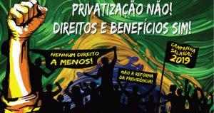 8º Congresso FINDECT marca luta contra a privatização e em defesa dos direitos e benefícios