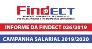 INFORME DA FINDECT 026/2019