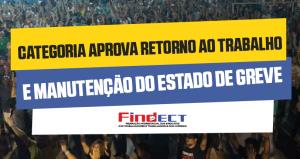 Categoria suspende a greve até 02/10, dia do julgamento do dissídio no TST!