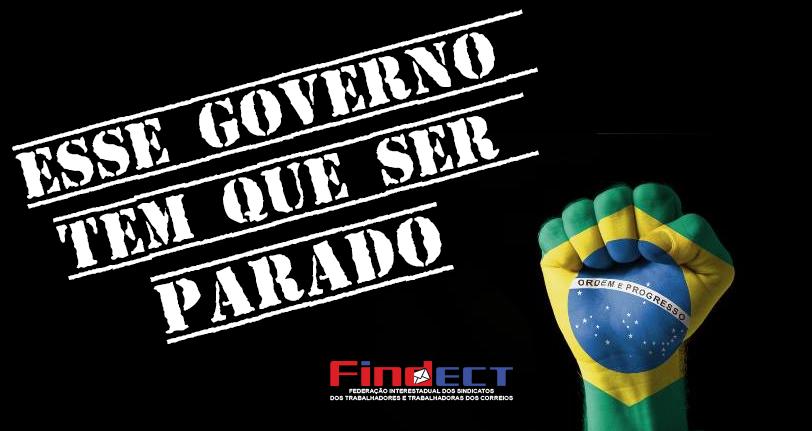 Além de acabar com a aposentadoria, governo quer entregar estatais e serviços públicos, destruir os Sindicatos e mais direitos!