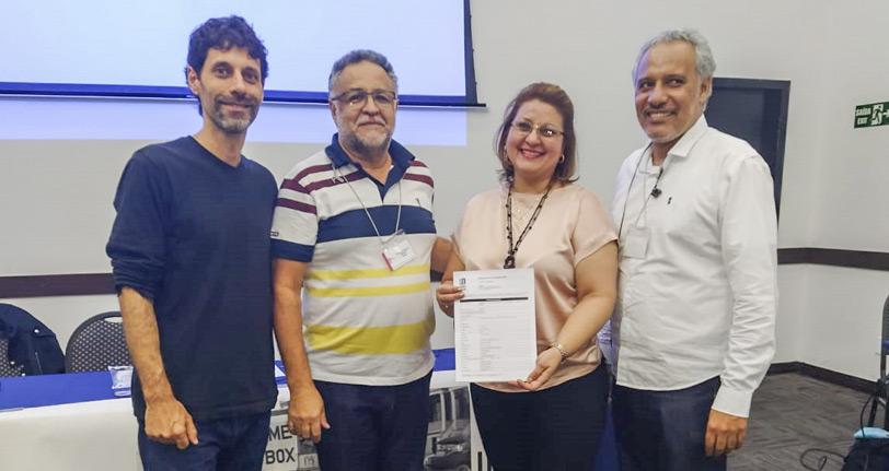 FINDECT se filia à UNI e participa de seminário para unificar a luta da categoria nas Américas