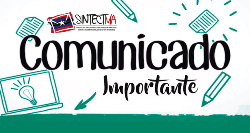 Comunicado Sintect-MA: Descontos no Contracheque