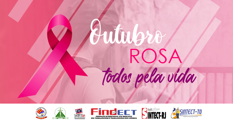 Dia 19 de outubro marca o Dia Internacional do Combate ao Câncer de Mama no Outubro Rosa
