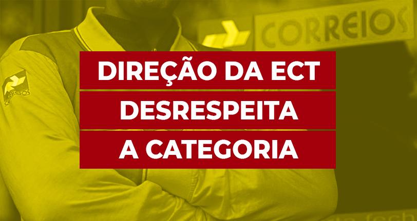Direção da ECT cancela reunião em cima da hora e desrespeita categoria mais uma vez