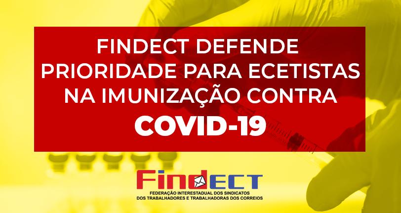 FINDECT defende prioridade para os ecetistas na imunização contra a COVID-19