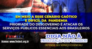Bolsonaro e Floriano riem na cara do povo enquanto destroem o patrimônio nacional