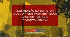 PDI é parte da privatização ou liquidação dos Correios