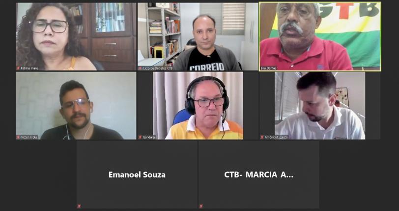 URGENTE: Reunião unificada da CTB e representantes das categorias de Correios, Eletrobrás, Caixa e Petrobrás