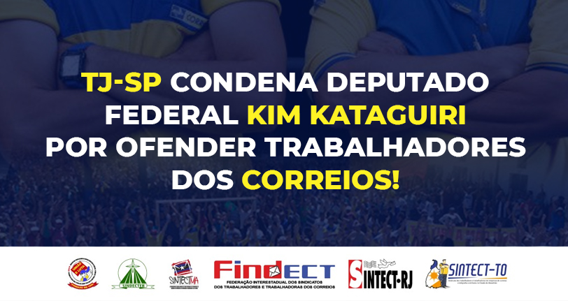 Justiça condena Kim Kataguiri por ofender trabalhadores dos Correios