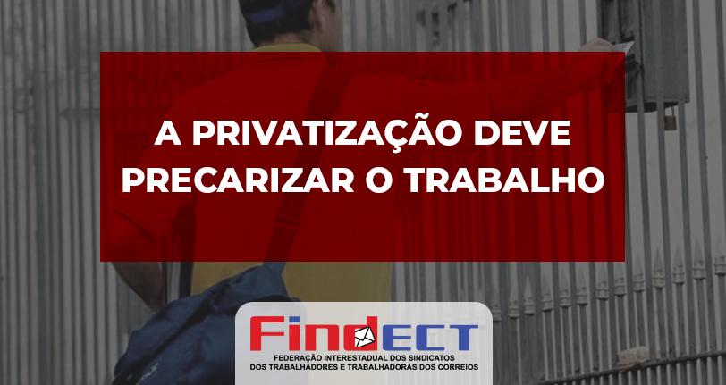 Se houver privatização, trabalho no Correio será uberizado, precário e informal