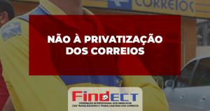 Correio privatizado vai a falência na Argentina e mostra que o Brasil não pode cair nessa