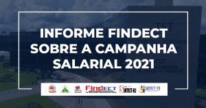 Informe da FINDECT sobre a Campanha Salarial 2021