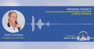 Podcast Findect – Audiência de conciliação e a greve dos Correios